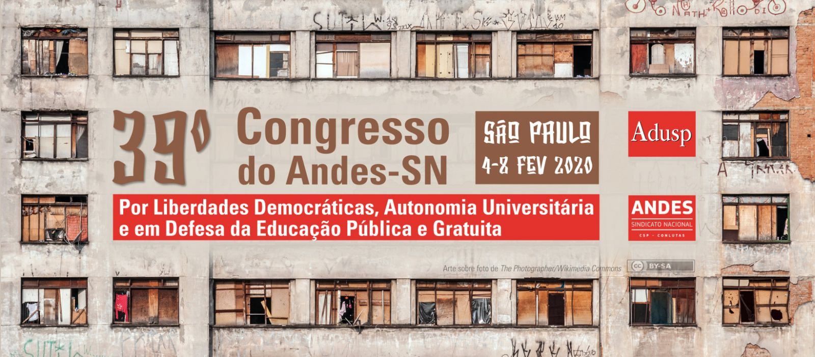 39º CONGRESSO DO ANDES-SN